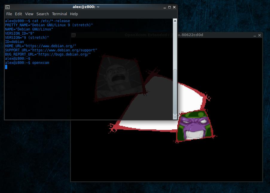 OpenXcom running